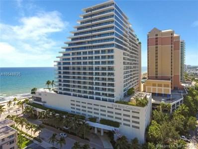 1 N Fort Lauderdale Beach Blvd UNIT 2003, Fort Lauderdale, FL 33304 - MLS#: A10548835