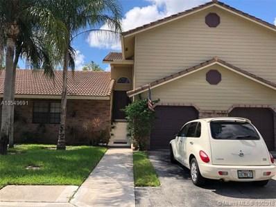 9182 Vineyard Lake Dr UNIT 9182, Plantation, FL 33324 - MLS#: A10549691