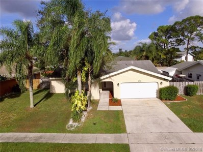 872 Windtree Way, Wellington, FL 33414 - MLS#: A10549775