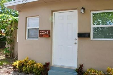 2254 NW 98th St, Miami, FL 33147 - MLS#: A10550747