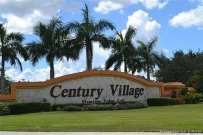 1200 SW 124th Terrace UNIT O-410, Pembroke Pines, FL 33027 - MLS#: A10550973