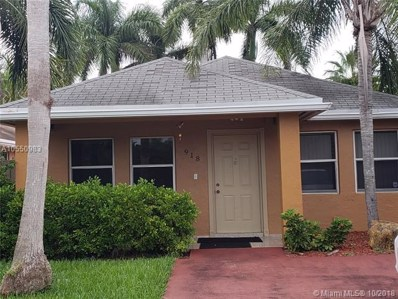 918 SW 9th Ct, Florida City, FL 33034 - MLS#: A10550983