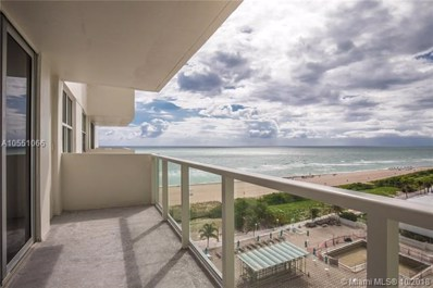 5701 Collins Ave UNIT 912, Miami Beach, FL 33140 - #: A10551066