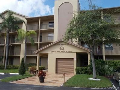 1400 SW 124th Ter UNIT 202Q, Pembroke Pines, FL 33027 - MLS#: A10551372