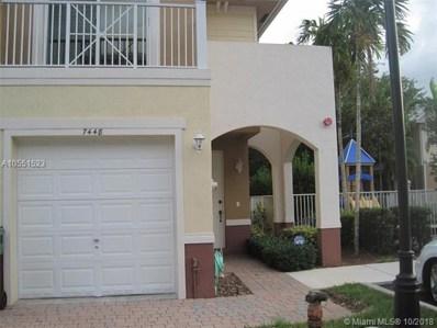 7448 Willow Grove Pl UNIT 7448, Davie, FL 33314 - MLS#: A10551523