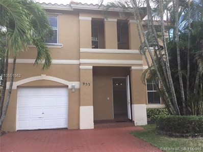 953 NW 135th Ave, Pembroke Pines, FL 33028 - MLS#: A10551562