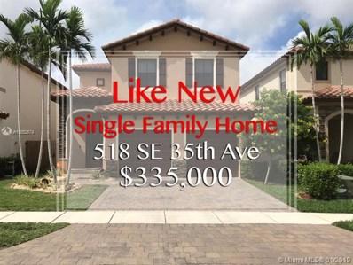 518 SE 35th Ave, Homestead, FL 33033 - MLS#: A10552674