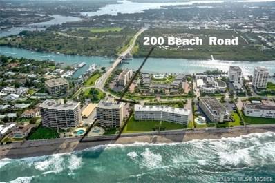 200 Beach Road UNIT 803, Tequesta, FL 33469 - #: A10552961
