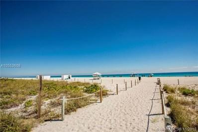 5875 Collins Ave UNIT 508, Miami Beach, FL 33140 - MLS#: A10553608