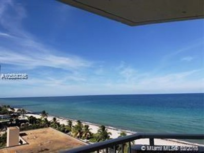 1950 S Ocean Dr UNIT 9K, Hallandale, FL 33009 - MLS#: A10554246