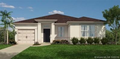 24940 SW 122 Place, Miami, FL 33032 - MLS#: A10555884