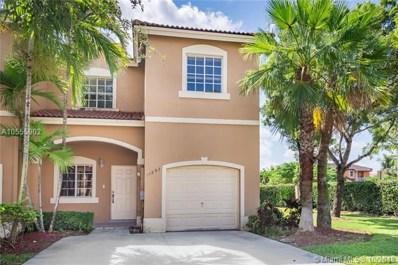 14892 SW 9th Ln UNIT 0, Miami, FL 33194 - #: A10555902