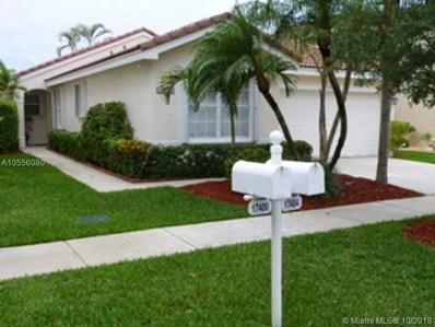 17404 SW 22nd St, Miramar, FL 33029 - MLS#: A10556080