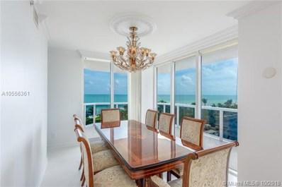 4779 Collins Ave UNIT 603, Miami Beach, FL 33140 - MLS#: A10556361