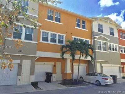 430 Amador Ln UNIT 5, West Palm Beach, FL 33401 - MLS#: A10557186