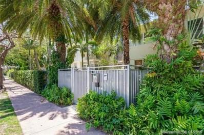 1340 Drexel Ave UNIT 305, Miami Beach, FL 33139 - MLS#: A10557458