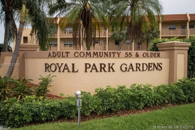 6650 Royal Palm Blvd UNIT 105C, Margate, FL 33063 - MLS#: A10557835