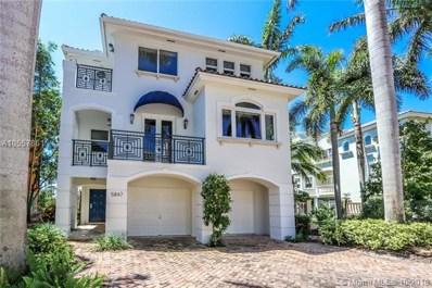 5847 Paradise Point Dr, Palmetto Bay, FL 33157 - #: A10557861