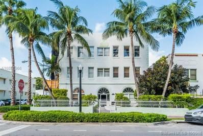 802 Euclid Ave UNIT 302, Miami Beach, FL 33139 - MLS#: A10557866