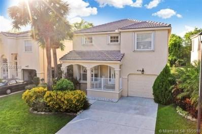 456 NW 87th Lane, Coral Springs, FL 33071 - MLS#: A10558198