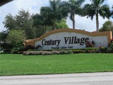 1201 SW 141st Ave UNIT 309J, Pembroke Pines, FL 33027 - #: A10558283
