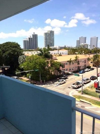 801 Meridian Ave UNIT 5C, Miami Beach, FL 33139 - MLS#: A10558455