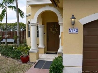 5162 SW 141st Ter UNIT 5162, Miramar, FL 33027 - MLS#: A10559236