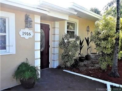 1916 E River Dr, Margate, FL 33063 - MLS#: A10559642