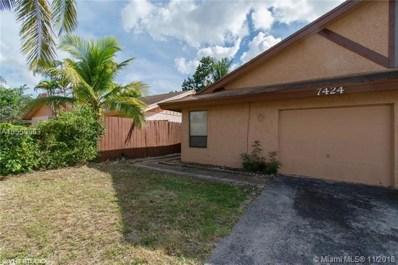 7424 SW 14th Ct, North Lauderdale, FL 33068 - #: A10559963