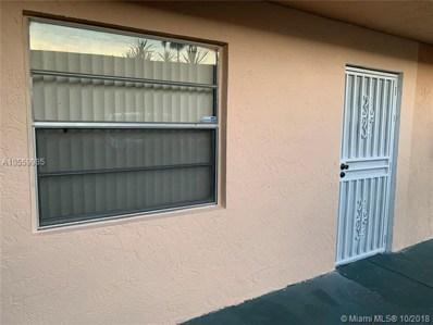 10735 SW 3rd St UNIT 4, Sweetwater, FL 33174 - MLS#: A10559985
