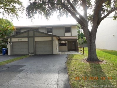 4111 Nw 79 Avenue UNIT 4111, Sunrise, FL 33351 - #: A10560354