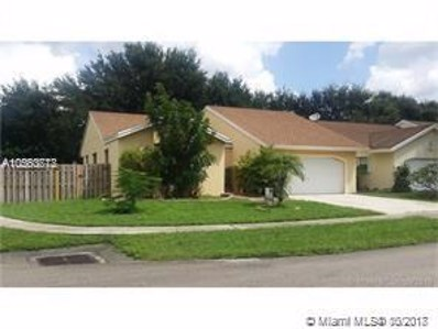 10877 NW 32nd Pl, Sunrise, FL 33351 - #: A10560778