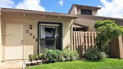 2022 SW 82nd Ave UNIT none, Davie, FL 33324 - MLS#: A10560981