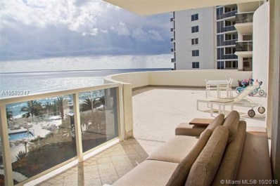 19111 Collins Ave UNIT 504, Sunny Isles Beach, FL 33160 - MLS#: A10562247