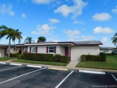 2641 W Barkley Dr W UNIT D, West Palm Beach, FL 33415 - #: A10562737