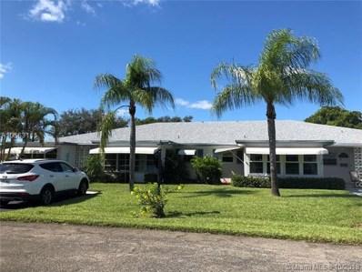 1182 S Drive Cir UNIT B, Delray Beach, FL 33445 - MLS#: A10563111