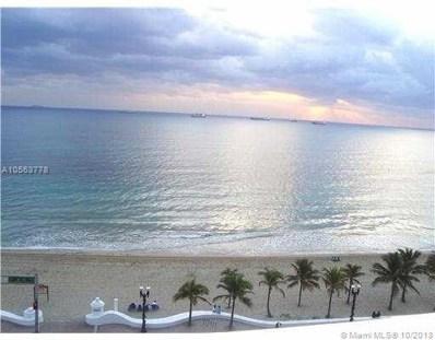 345 N Fort Lauderdale Beach Blvd UNIT 501, Fort Lauderdale, FL 33304 - MLS#: A10563778