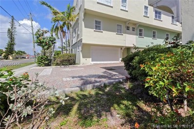 1705 Johnson St UNIT A, Hollywood, FL 33020 - MLS#: A10565456