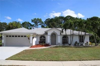 166 W Saratoga Blvd W, Royal Palm Beach, FL 33411 - MLS#: A10565476
