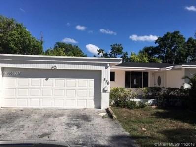 530 SW 38th Terrace, Fort Lauderdale, FL 33312 - MLS#: A10565937