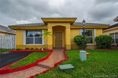 18515 NW 52nd Path, Miami Gardens, FL 33055 - MLS#: A10566629