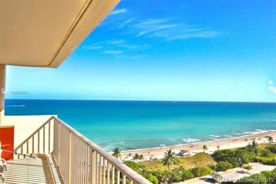 1201 S Ocean Dr UNIT 1601N, Hollywood, FL 33019 - MLS#: A10567054