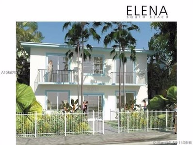 1560 Meridian Ave UNIT 207, Miami Beach, FL 33139 - MLS#: A10567920