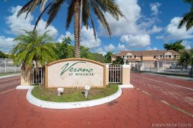 2250 SW 81st Ave UNIT 2250, Miramar, FL 33025 - MLS#: A10568104