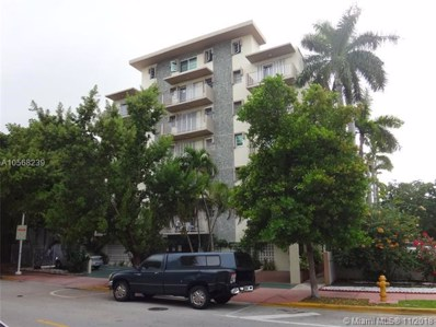 1820 James Ave UNIT 6B, Miami Beach, FL 33139 - MLS#: A10568239