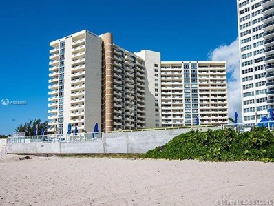3180 S Ocean UNIT 103, Hallandale, FL 33009 - MLS#: A10568948