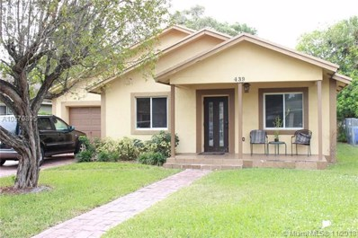439 NW 21st Ter, Fort Lauderdale, FL 33311 - MLS#: A10570805