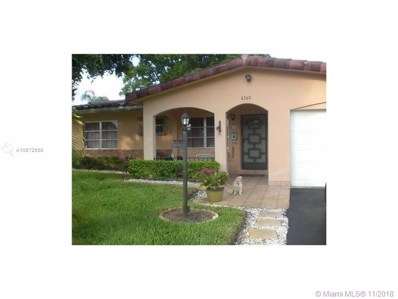 4360 NW 12th Ter, Pompano Beach, FL 33064 - MLS#: A10572556
