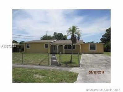 2120 NW 185th Ter, Miami Gardens, FL 33056 - MLS#: A10572638
