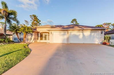 3871 SW Ramspeck St, Port St. Lucie, FL 34953 - MLS#: A10572785